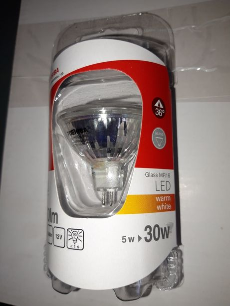 Bec Led Toshiba MR16/12V /5W=30W /300LM !