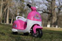 Tricicleta electric Princess 20W 6V pentru copil 2-4 ani #Roz