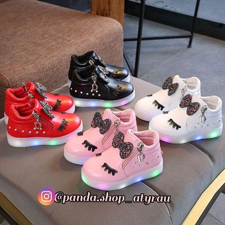 Детский светящий осенний обувь