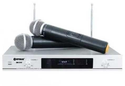 Set microfoane wireless WVNGR WG-2006,ideale karaoke