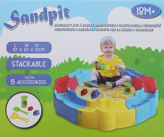 Сглобяем пясъчник с 5 аксесоара.