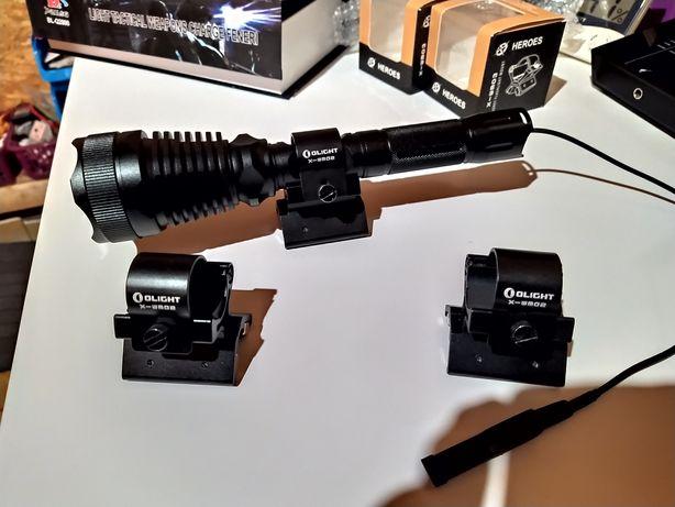 Suport magnetic OLIGHT pentru prindere lanterna pe arma vanatoare