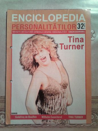 Enciclopedia personalităților nr.32 (Tina Turner,Godefroy de Bouillon)