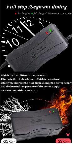 incarcator  48v 2,8ah si 60v 2,8 ah pentru baterii pb-acid gel