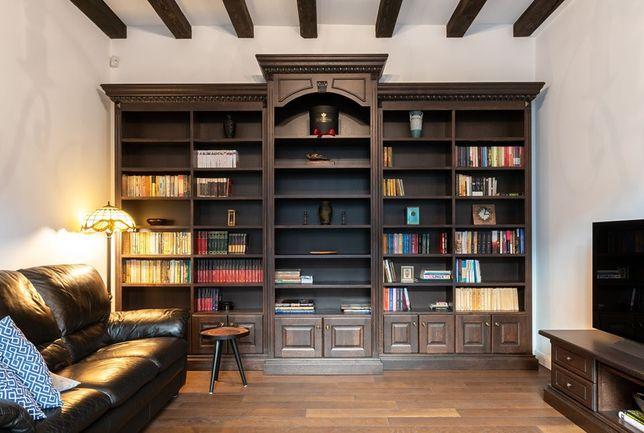 Producator biblioteci si mobilier din lemn masiv. Personalizat.