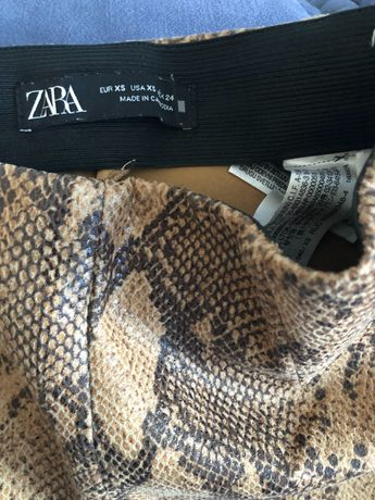 Pantaloni snake Zara xs