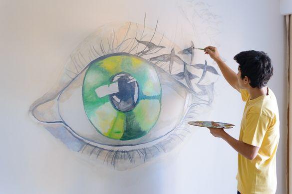 Картини по поръчка/шарж карикатури/ готови картини/ Рисунка на стена
