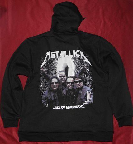 Hanorac cu fermoar Metallica - Death Magnetic +alte formatii rock