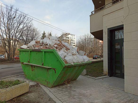 Извозване на строителни и битови отпадъци, кърти чисти извозва