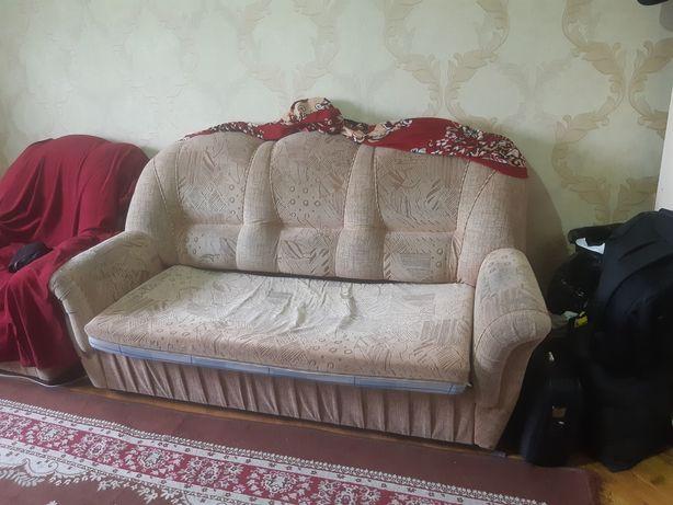 Продам диван с одним креслом