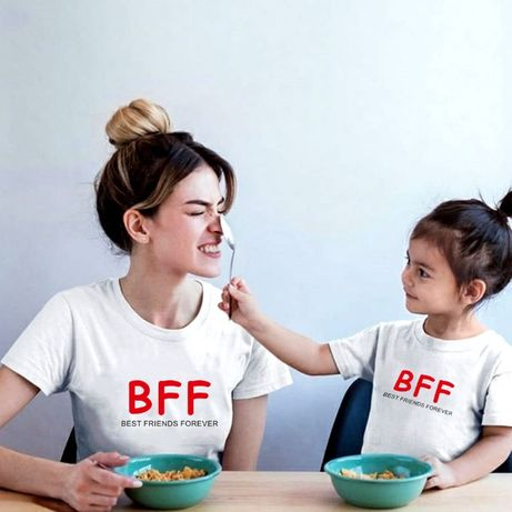 Set tricouri personalizate mama-fiica, BFF