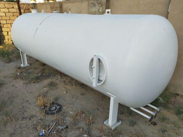 Емкость, 6 тонна ГАЗ, Газовый газгольдер