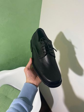 Pantofi piele Negri