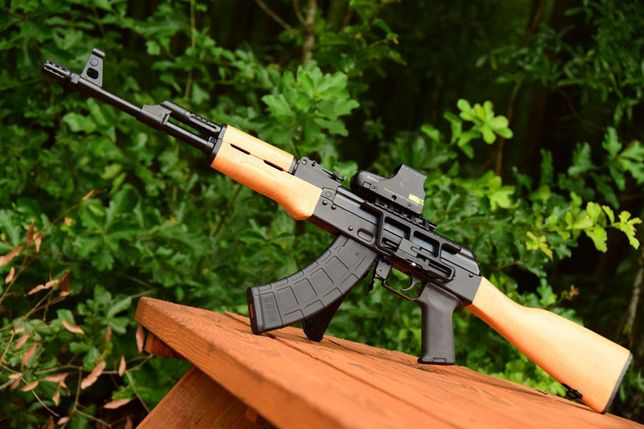 Pusca Electrica ~Ak47~ MODEL NOU! - Airsoft Mitraliera Arma Pistol Co2