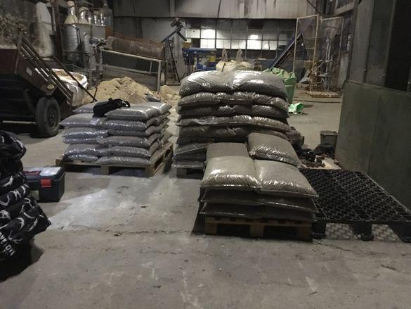 Линия за производство на пелети 200-300кг час