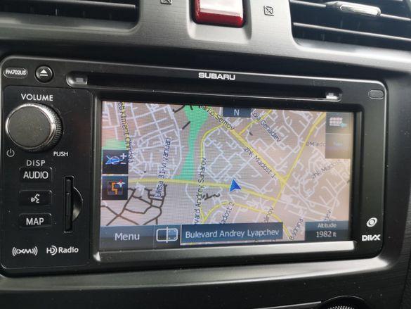 Subaru Crosstrek Sd Card Субару Impreza Сд Карта 2021гд DIVX Premium