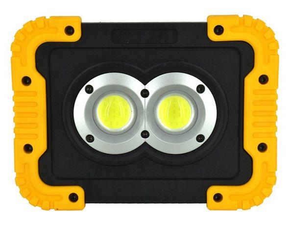 Lanterna reincarcabila LED COB 800lm. foarte puternica