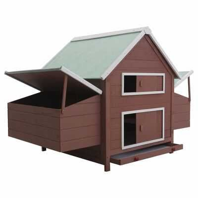 Cotet pentru pasari / gaini , 157 x 97 x 110 cm, lemn de pin ,4 culori