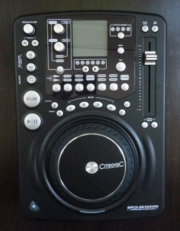 Citronic MPCD-S6 professional CD/MP3 player