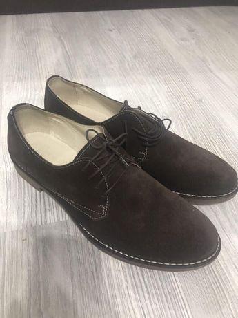 Pantofi piele întoarsă, foarte comozi,42