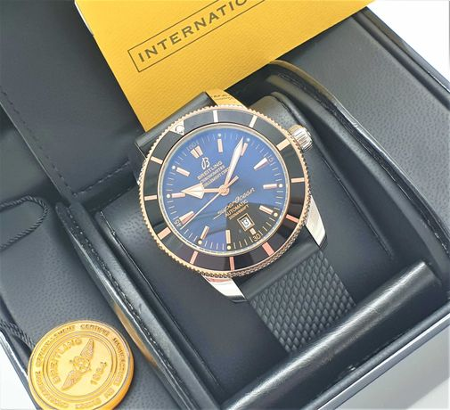 Breitling Superocean Heritage 46MM Gold Black