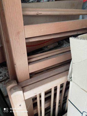 манеж детский деревянный