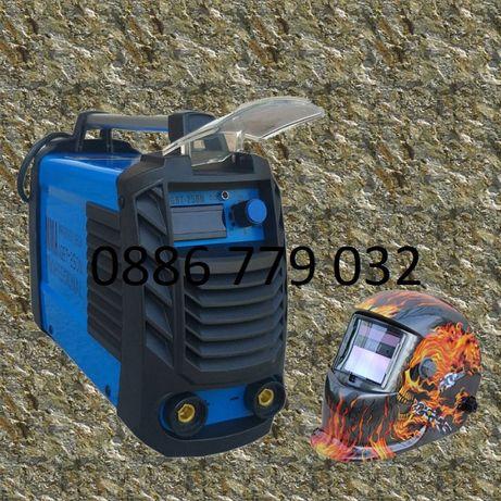 250А МАХ Електрожен Инверторeн с 4м каб дисплей IGBT,Подарак сол. мас