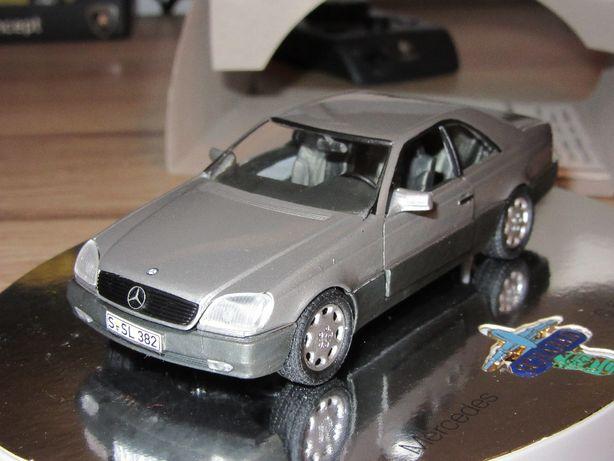 Macheta Mercedes S600 Schabak 1:43