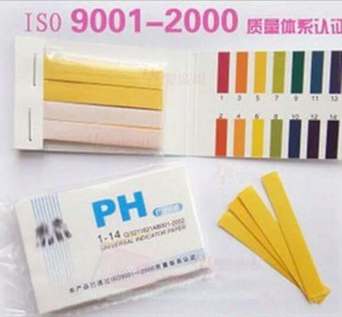 ph метр, ph тест, ПШ тест, лакмусовая бумага, индикаторная бумага