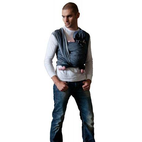 Нов дишащ тъкан слинг лен/памук ByKay Deluxe Denim размер 7