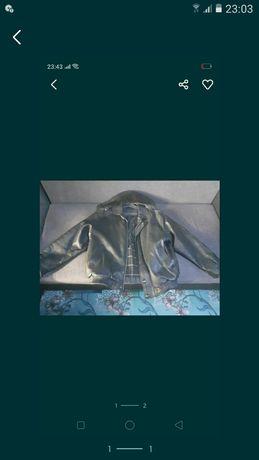 Кожанная куртка,как новая в отличном состоянии.Висит без дела)))