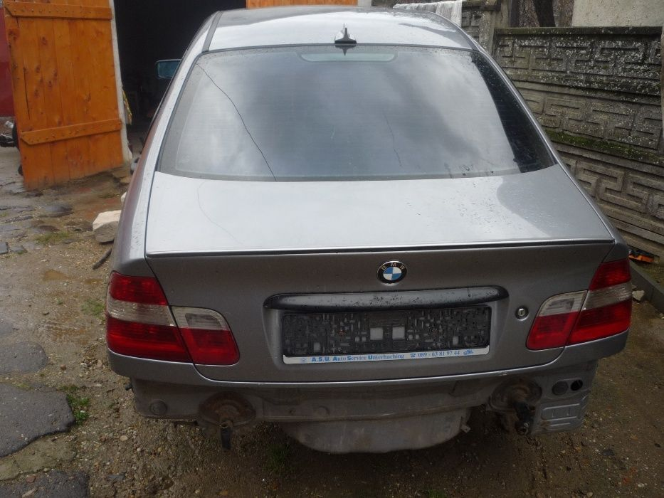 Dezmembrez BMW e46 320D 2004 facelift 150cp Amati - imagine 1