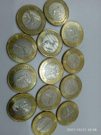 Продам монеты 100т жети казна и 50т