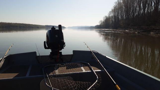 Pescuit scrumbie Dunăre