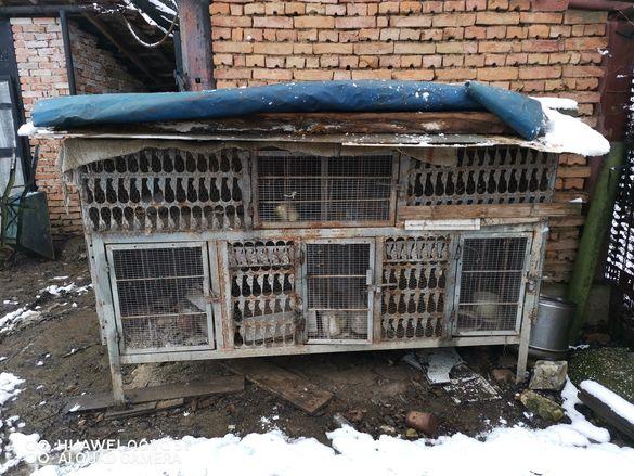 Продавам клетки за зайци във добро състояние