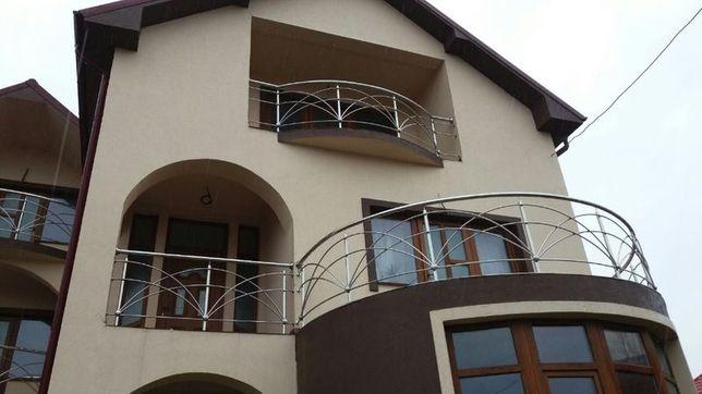 balustrade de inox interioare si exterioare (terase)