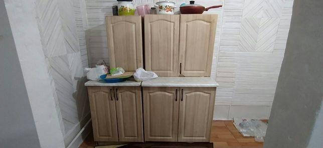 Кухонные шкафы светлого цвета