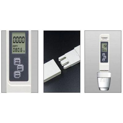Устройство за измерване на замърсяване на вода, температура и проводим