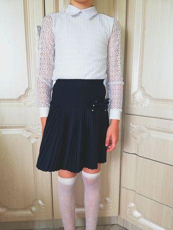 Продам школьную водолазку и юбку