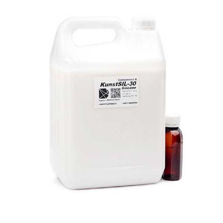Силикон за калъпи и форми rtv-2 издръжлив течен силиконов каучук 5 кг