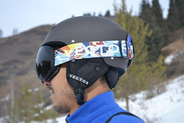 Горнолыжные очки Vector! Горнолыжная маска! Горнолыжный аксессуар!