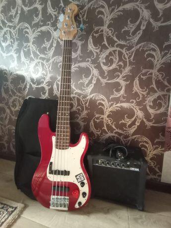 Пятиструнный Squier P-bass