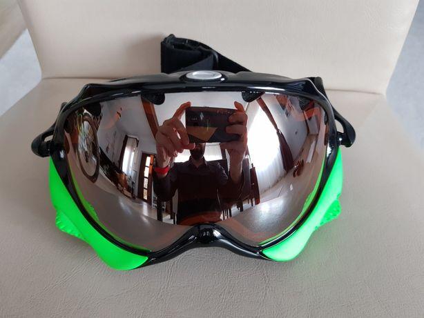 Ochelari snow goggles Oakley Wisdom black iridium