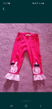 Pantaloni mar 86 bebe paste iepure iepuras haine copii