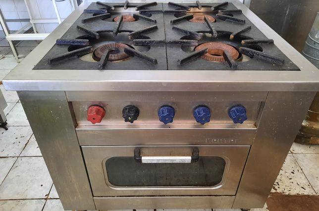 Индукционная газовая плита