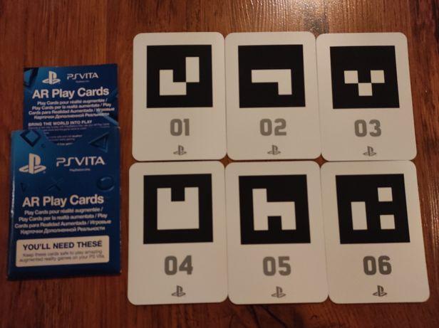 AR Play Cards PS Vita ,3 jocuri și 6 carduri