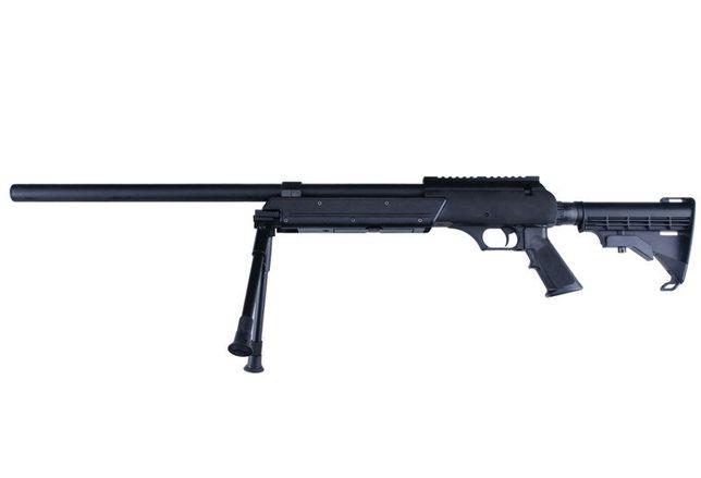 Pusca Airsoft Sniper MB06B WELL,Cu Bipod,Noua,Spring/Manuala,1,84 J