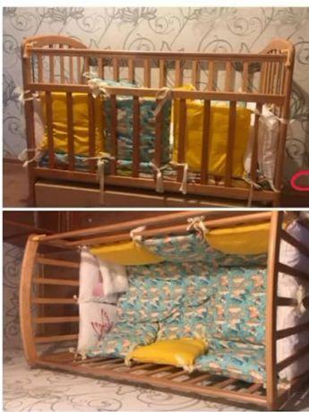 Кроватка и новые бортики