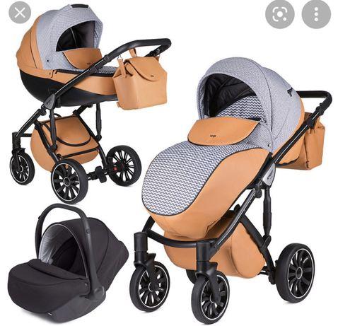 Продается детская прогулочная коляска с люлькой Anex