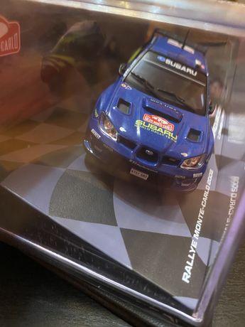 Vand Macheta Auto Subaru Impreza 2007, Raliu WRC, Metalica, Scara 1:43